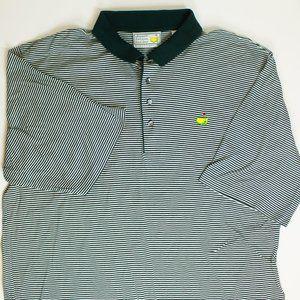 Augusta Golf Slazenger XXL Masters Striped Polo